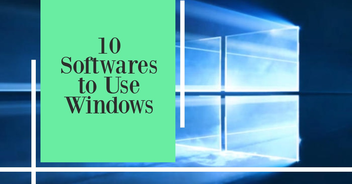 10 windows-softwares